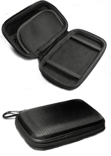 Jewelry pill cosmetic stash small padded zippered box free shipping